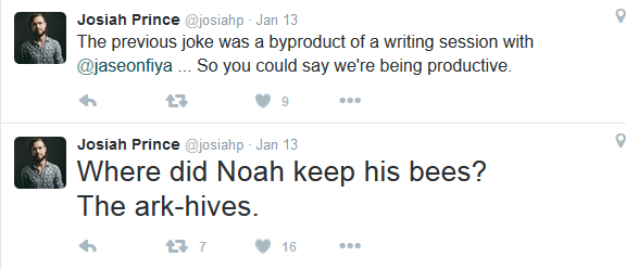 Josiah and Jason everyone.