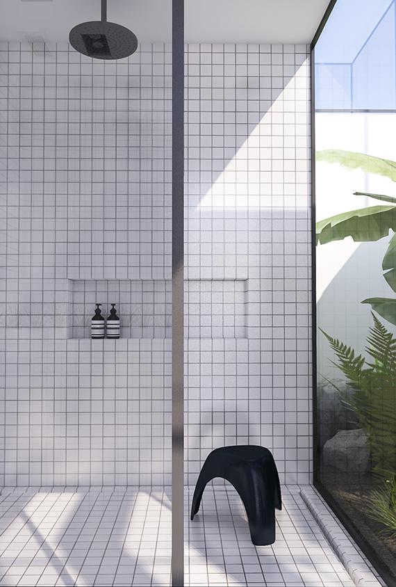 Lavabo Urban.Urban Contemporary Bathroom Interier Ideias Para Casas