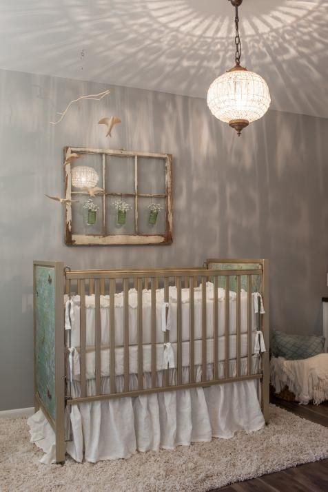 Baby Girl Nursery Removable Wallpaper Wall Art Ideas From Chip And Joanna Gaines Home