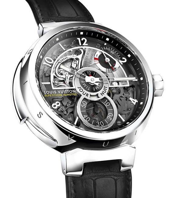 Louis Vuitton Tambour Minute Repeater 2011