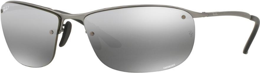 1fe7ca9951 Ray-Ban RB3542 Chromance Polarized Sunglasses Matte Gunmetal Grey Mirror  Silver Polar