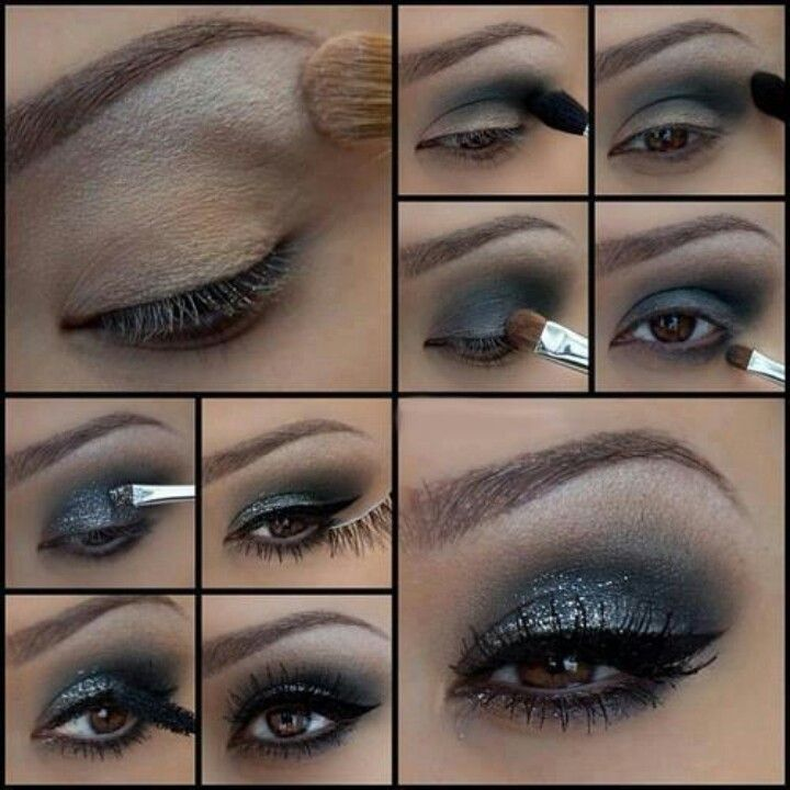 Gorgeous and sparkly! Great look for a girls night out!