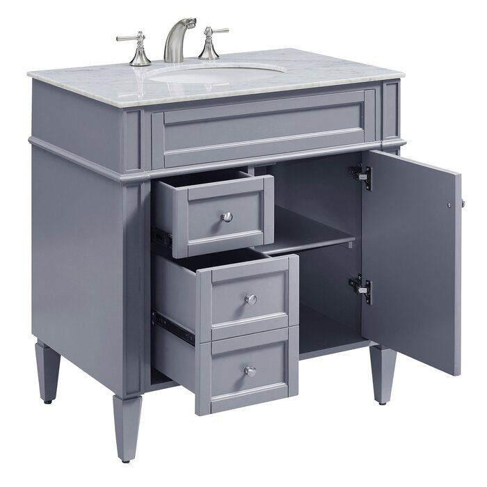 "Richdale Apartments: Antionette 32"" Single Bathroom Vanity Set"