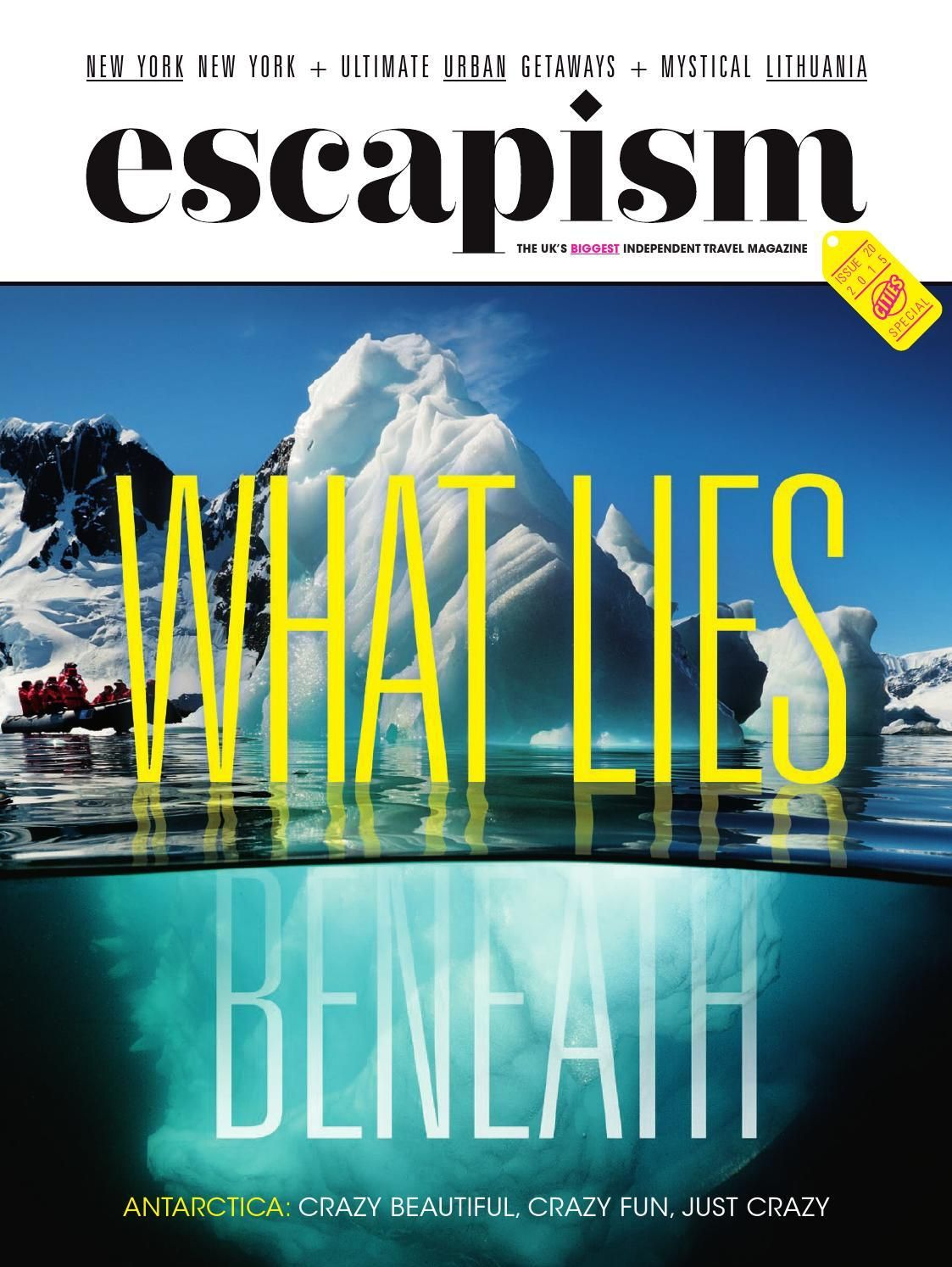 #ClippedOnIssuu from Escapism – 20 – City Breaks Special