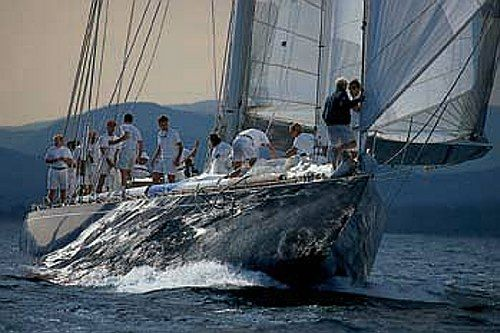 J Class Velsheda With Images Sailing Yacht J Class Yacht