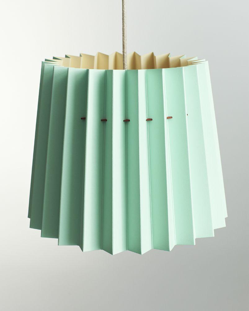 TWIN-TONE LAMPSHADE - MINT/BURGUNDY