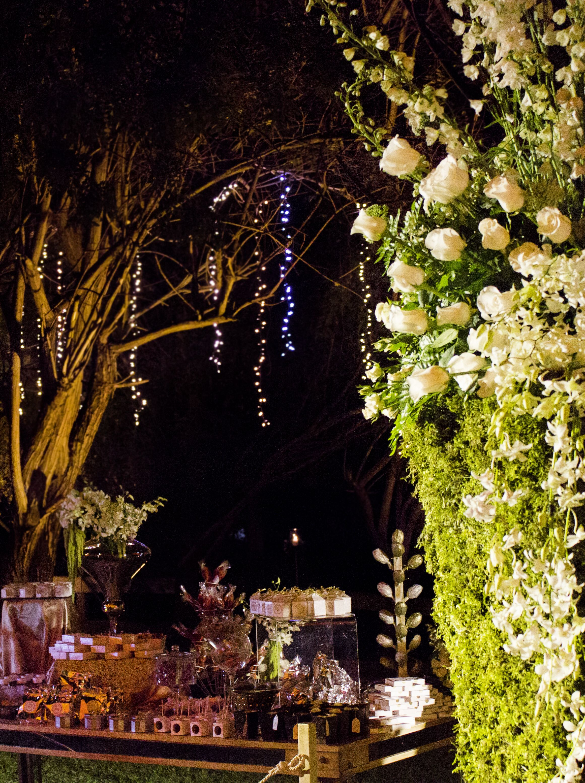 Iluminacin para boda en jardn  Eventos en Jardn  Boda