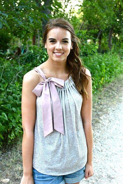 Cute DIY knit shirt