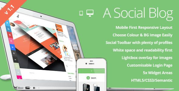 This Deals Ipsum Social Blogging Responsive WordPress Themewe are ...