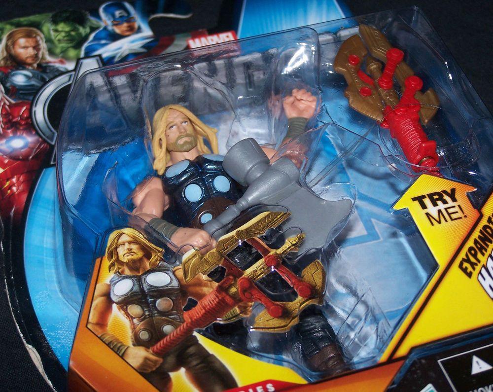 avengers comic battle hammer thor 3 75 action figure marvel