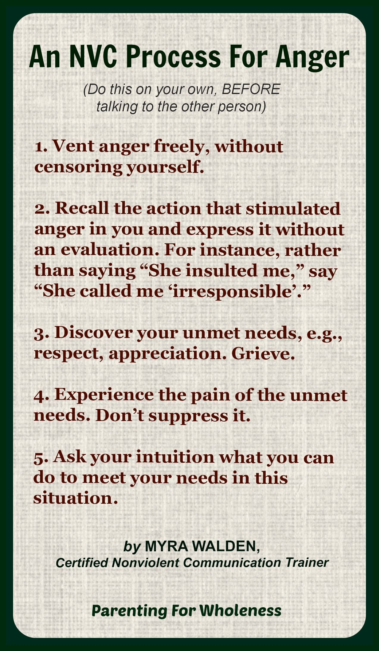 Here S A Wonderful Series Of Steps You Can Take When You