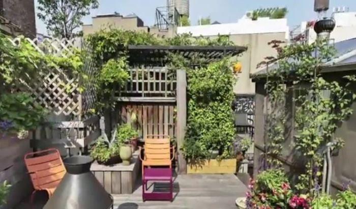 Rachael Rayu0027s New York Apartment Patio Garden Tour | Between Naps On The  Porch