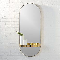 Pendulum Gold Wall Mirror Reviews With Images Modern Mirror