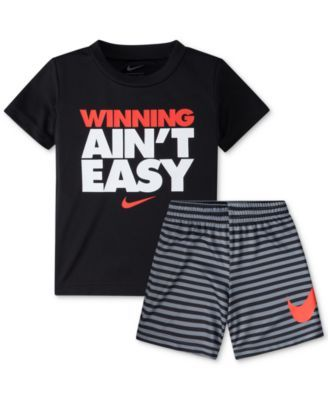 Nike 2-Pc. Graphic-Print T-Shirt   Shorts Set ab7d29c5d862e