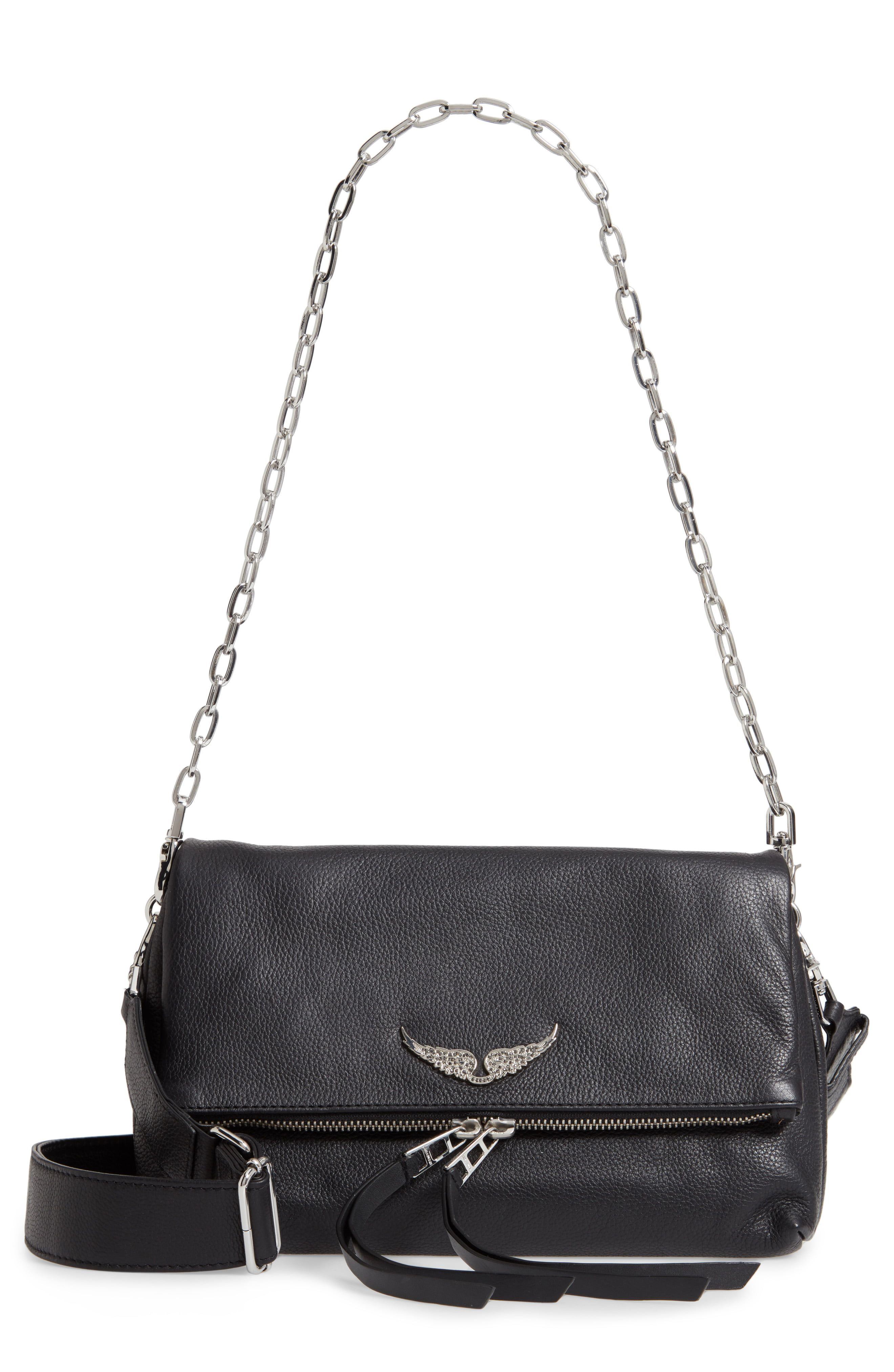 Zadig Voltaire Rocky Pebbled Leather Crossbody Bag Nordstrom Black Leather Crossbody Bag Zadig And Voltaire Crossbody Bag