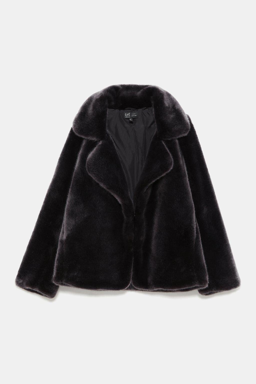 Faux fur jacket | Veste fausse fourrure, Veste et Manteau veste