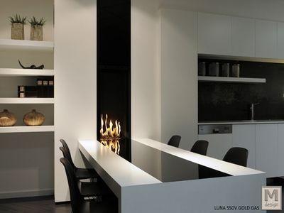 cheminee #gaz Cheminée insert Gaz Confort Design cheminee