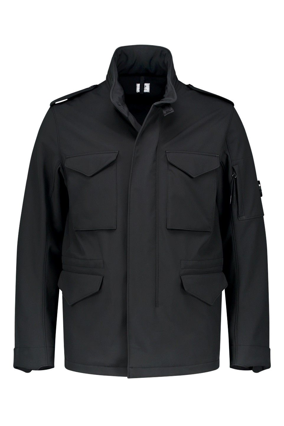 06CMSH071A overshirt jacket in navy