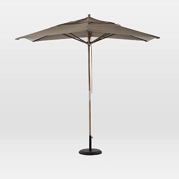 Rectangle Umbrella Steel Outdoor Umbrella Steel Canopy