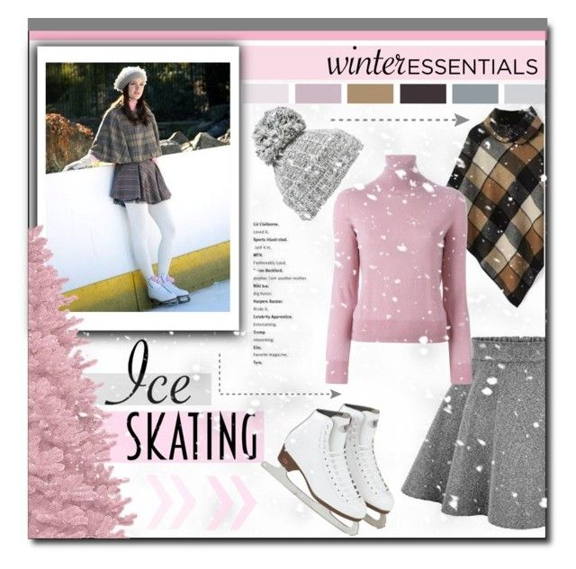 """""""Ice Skating Style"""" by carlavogel ❤ liked on Polyvore featuring Episode, Evelyn K, P.A.R.O.S.H., Winter and iceskatingstyle"""
