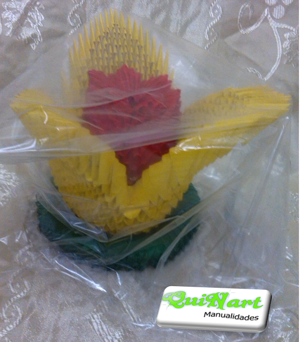 Flor de Loto Origami - $ 60.000