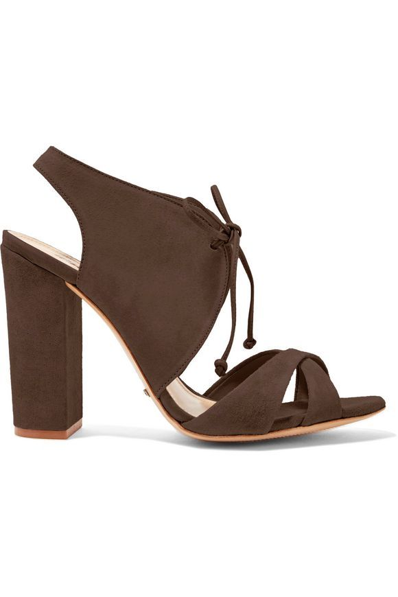 SCHUTZ Gracy suede sandals | Shoes | Pinterest | Sandals, Designer high  heels and High heel