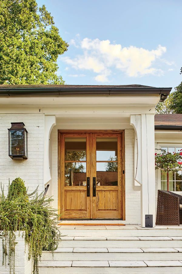 Dramatic Ranch Renovation In 2018 City Home Doors House Home