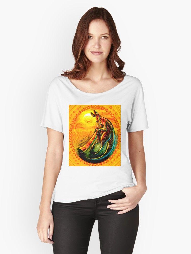 Australia aboriginal art women   relaxed fit  shirt front also in rh pinterest