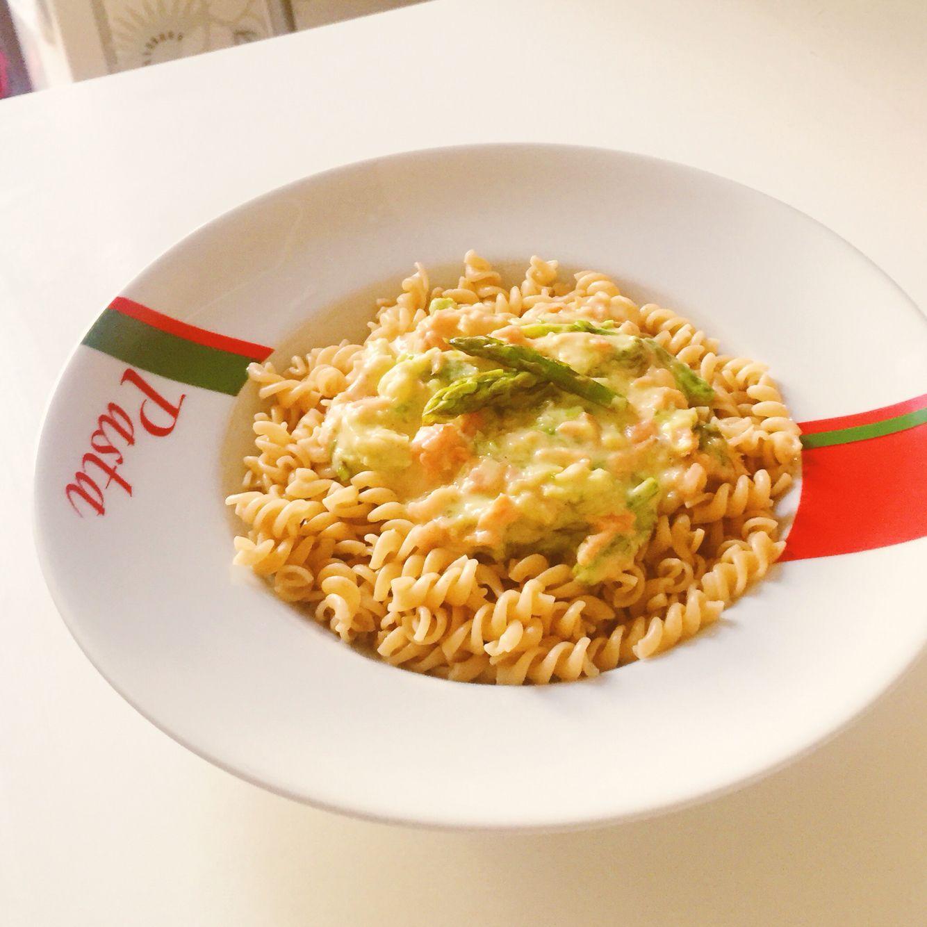 7min recipe while cooking pasta fry big chuncks of asparagus 7min recipe while cooking pasta fry big chuncks of asparagus add cream ccuart Image collections