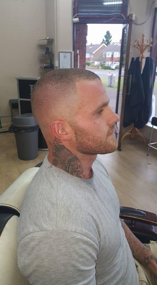 Bald fade R side … | Pinteres…