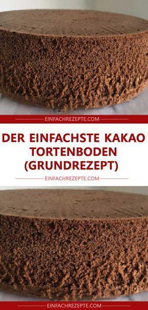 Zutaten 5 St. Eier 5 EL Zucker 5 EL Mehl 5 EL warmes Wasser 5 EL Öl 2 EL unges… – Kuchen