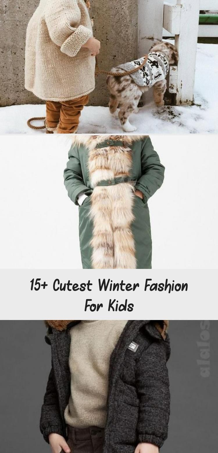 15+ Cutest Winter Fashion For Kids - health and diet fitness, #BabyClothingcutest #cutest #diet #fas...