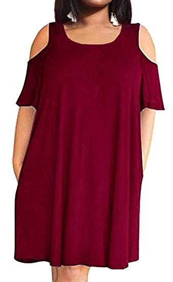 a89e12560ece1 The drop down size is US Plus Size. Feature  Round neck