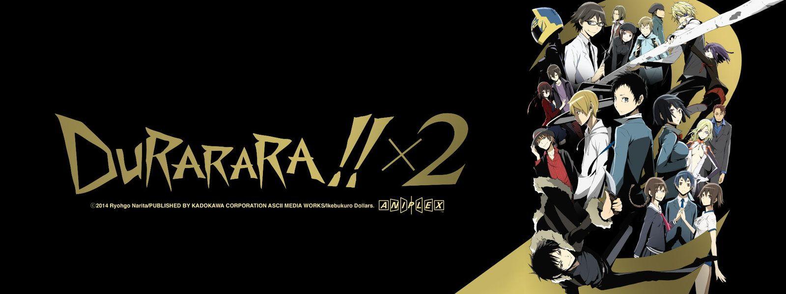 Durarara!! 2nd Season JustDubs Online Dubbed Anime