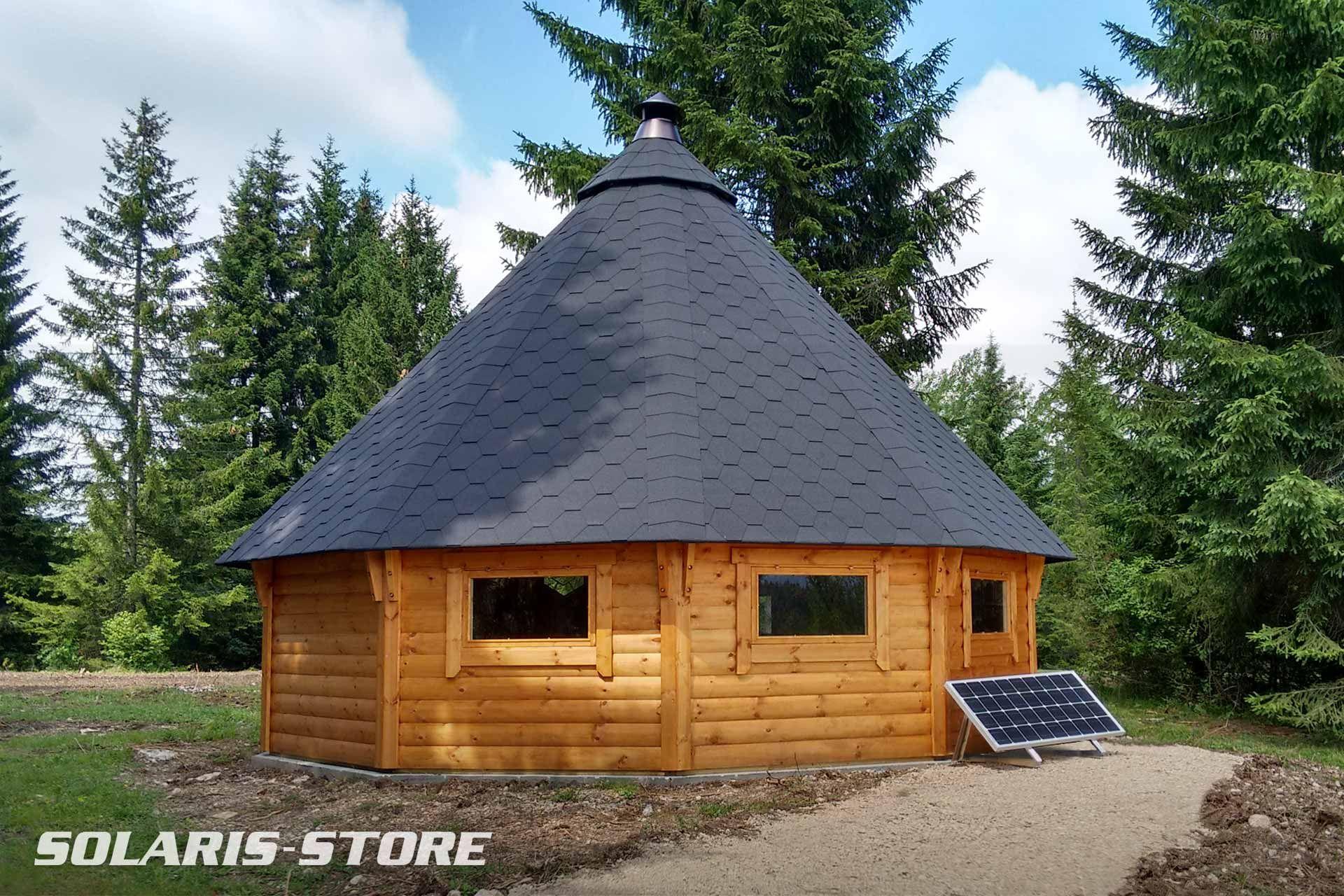 ain 01 installation d 39 un kit solaire autonome pour alimenter en lectricit un chalet bois. Black Bedroom Furniture Sets. Home Design Ideas
