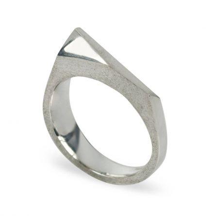 Fashion :: Jewellery :: Facets Silver Ring by Pamela Lauz Jewellery, $195