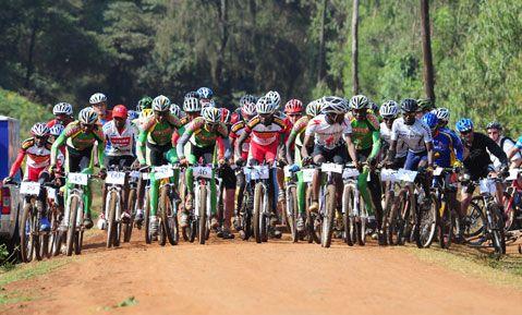 Ngong Race 2011 Mountain Biker Kenya Racing