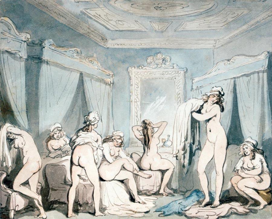 Erotic prints from the regency