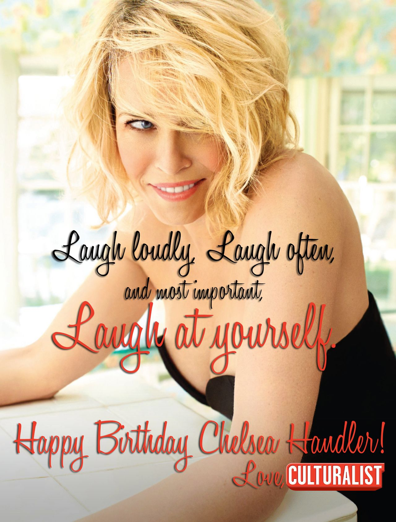 2446f779cff0f1eef50059ae0d07325f happy birthday chelsea handler! add her to your top10 female