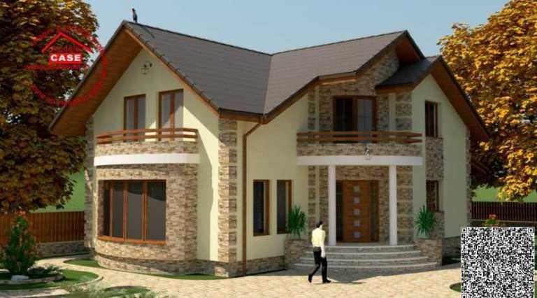 Case Cu Balcon Rotund Design Elegant La Locuinte In Stil Clasic