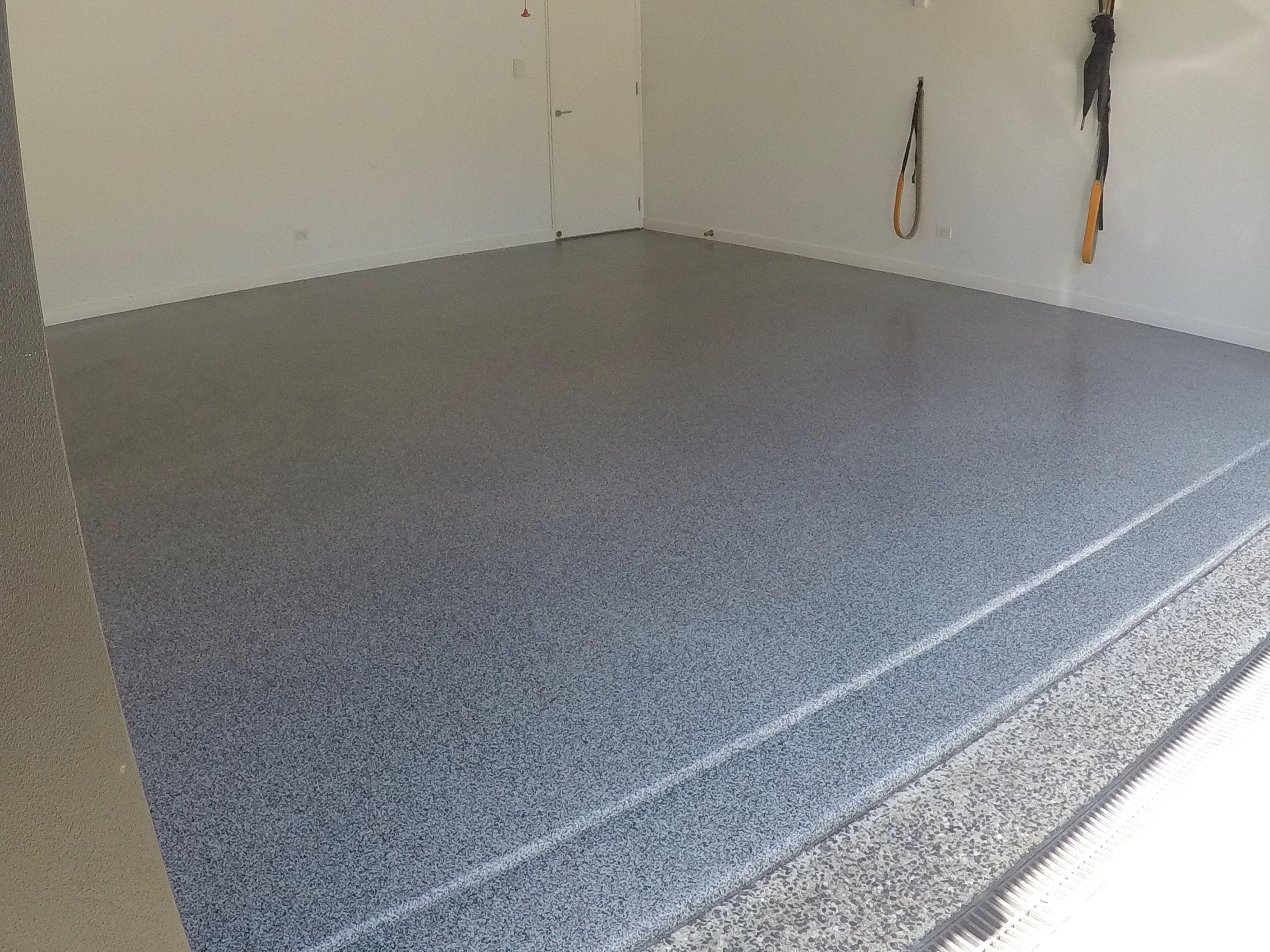 Sunshine Beach Epoxy Flooring The Garage Floor Co A Beautiful Garage Transformation Has Left This Floor With A Epoxy Floor Metallic Epoxy Floor Garage Floor