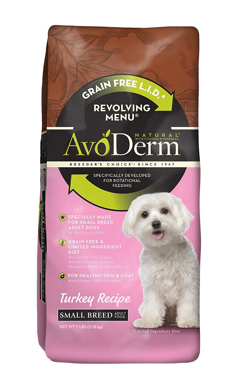 Avoderm natural revolving menu small breed dog food don