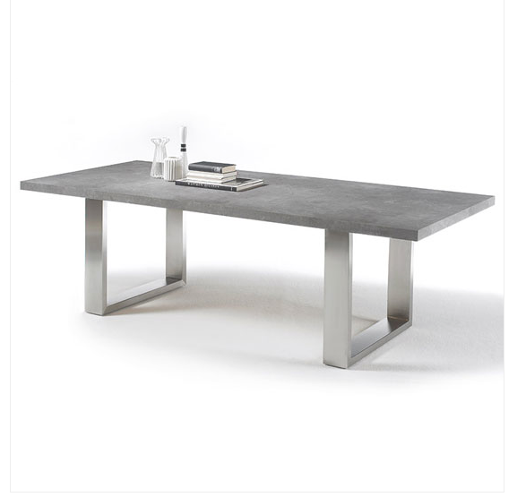 Savona Dining Table Granite Top Furniture In Fashion Com Grey
