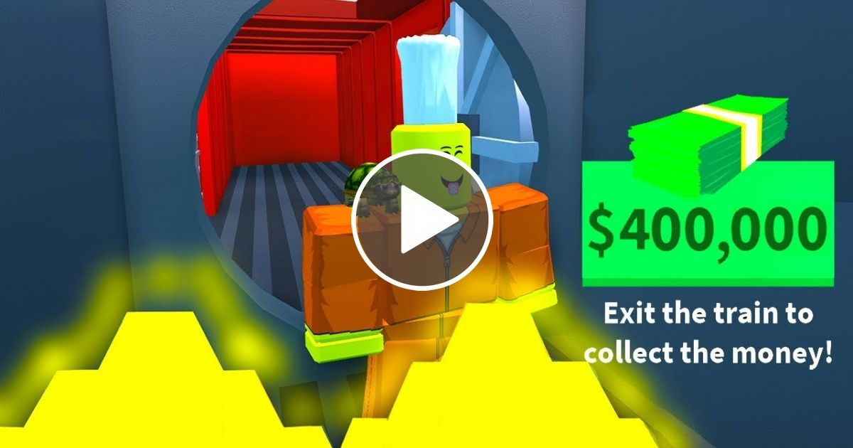 Make Money For You On Roblox Jailbreak - Robbing Max Cash From The New Train Roblox Jailbreak