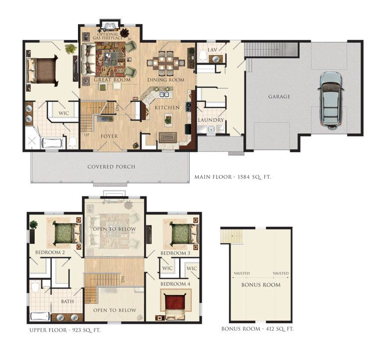 Heartland homes floor plans house design ideas Heartland house