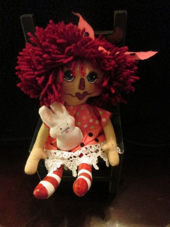 Spring Tyme Raggedy 10inches Of Love by SympleTymes on Etsy