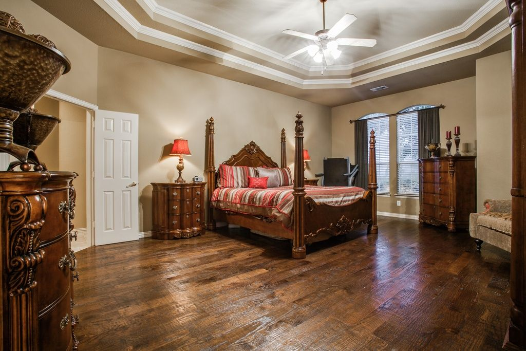 Best Traditional Master Bedroom With Hardwood Floors High 400 x 300