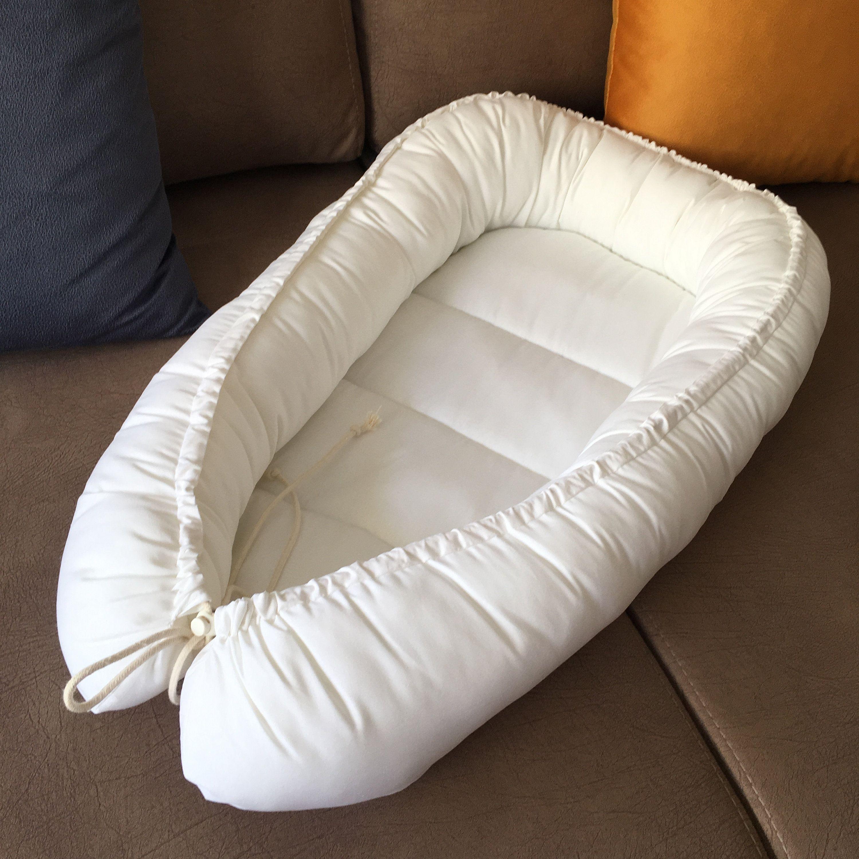 Baby Nest Bed Crib Newborn Sleeper Double Sided Babynest Organic Cotton Babynest