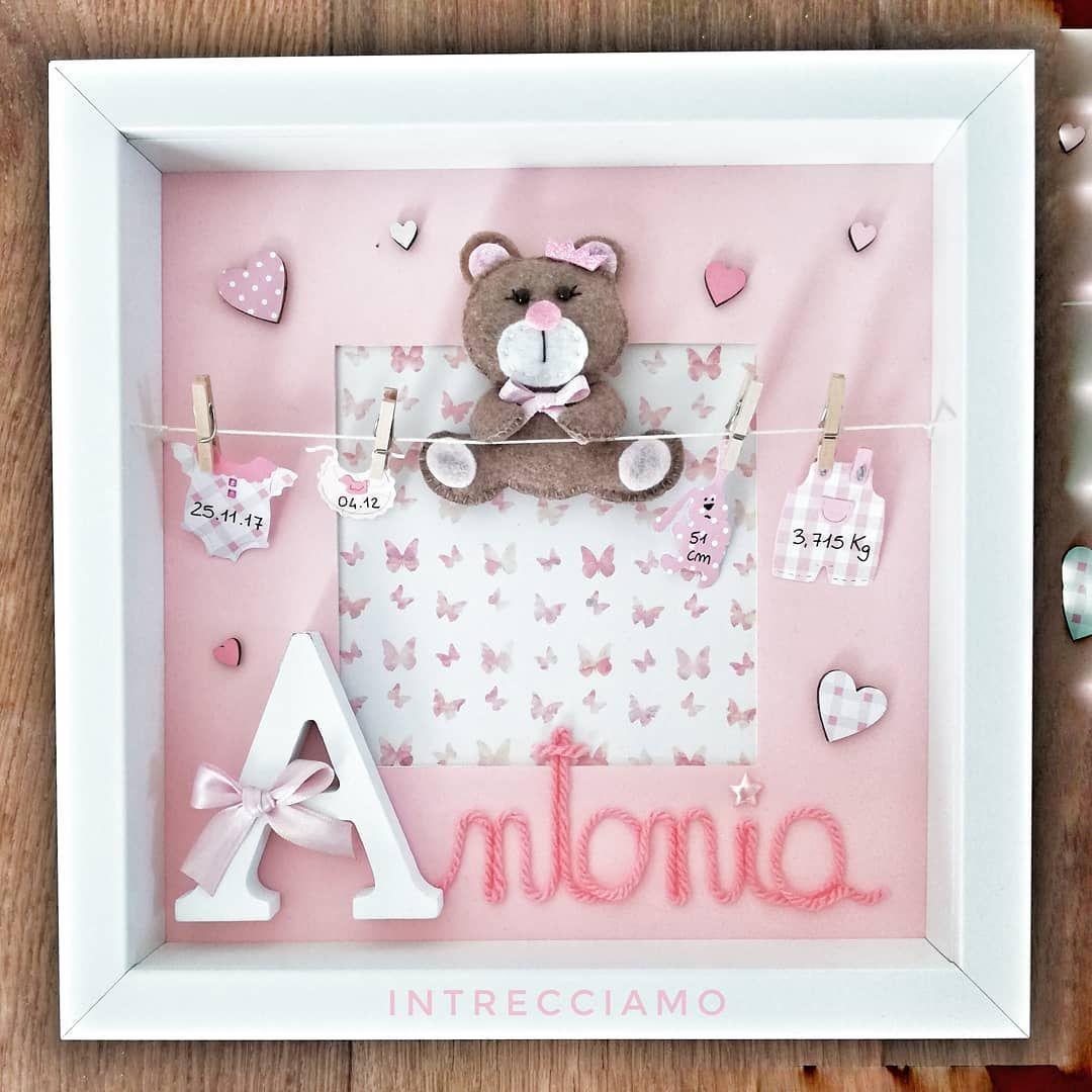 Regalo Primo Compleanno Nipotino buon primo compleanno piccola antonia 💞 #intrecciamo