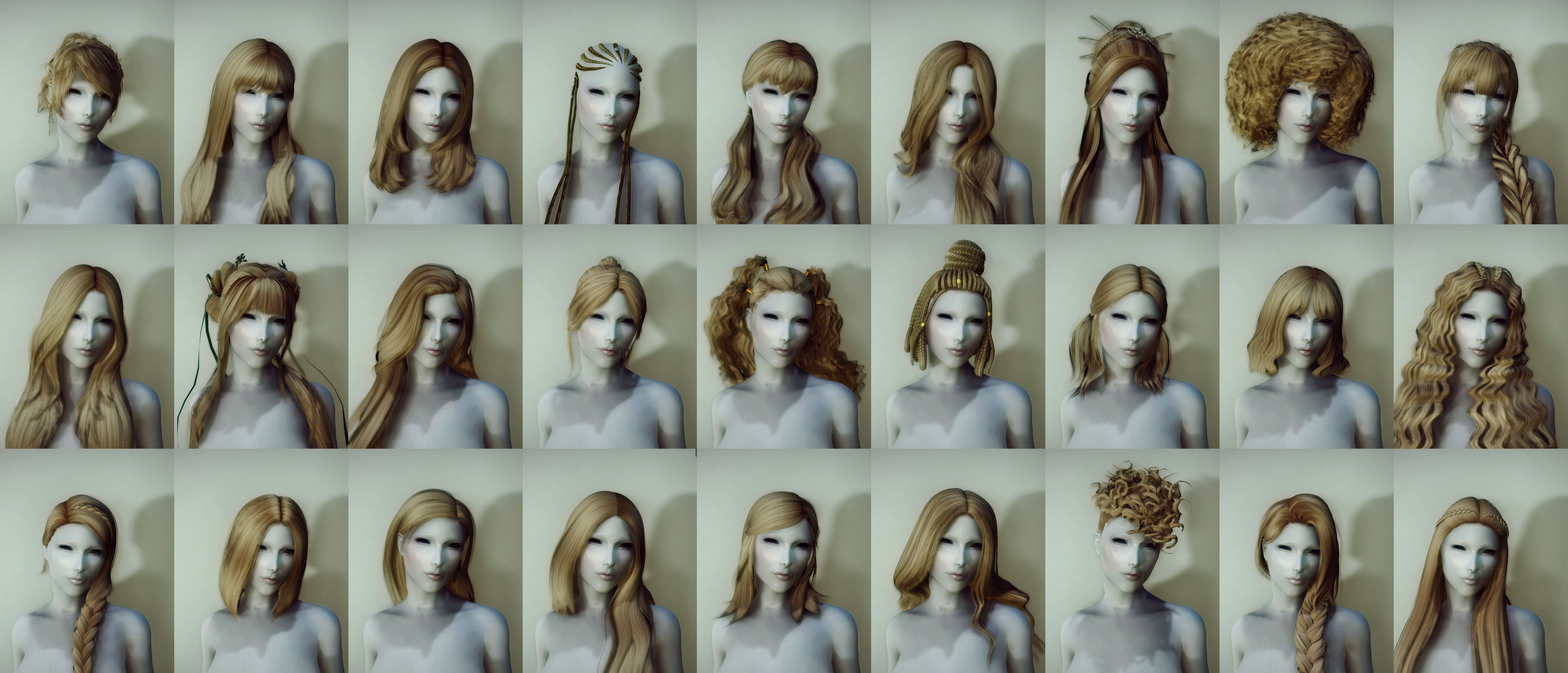 Holiday Hairdos - Downloads - Skyrim Non Adult Mods - LoversLab